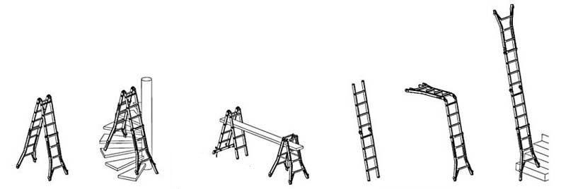 Варианты лестницы