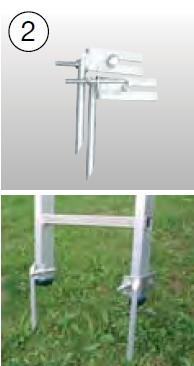Острые наконечники для лестниц