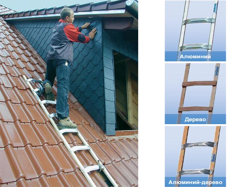 Лестница для крыш