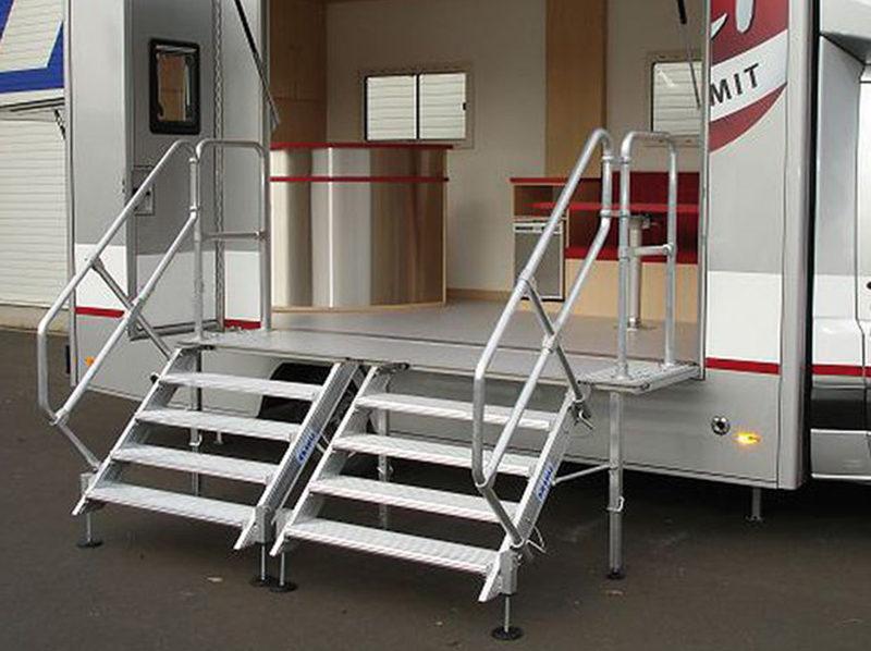 Специальные конструкции – алюминиевые лестницы