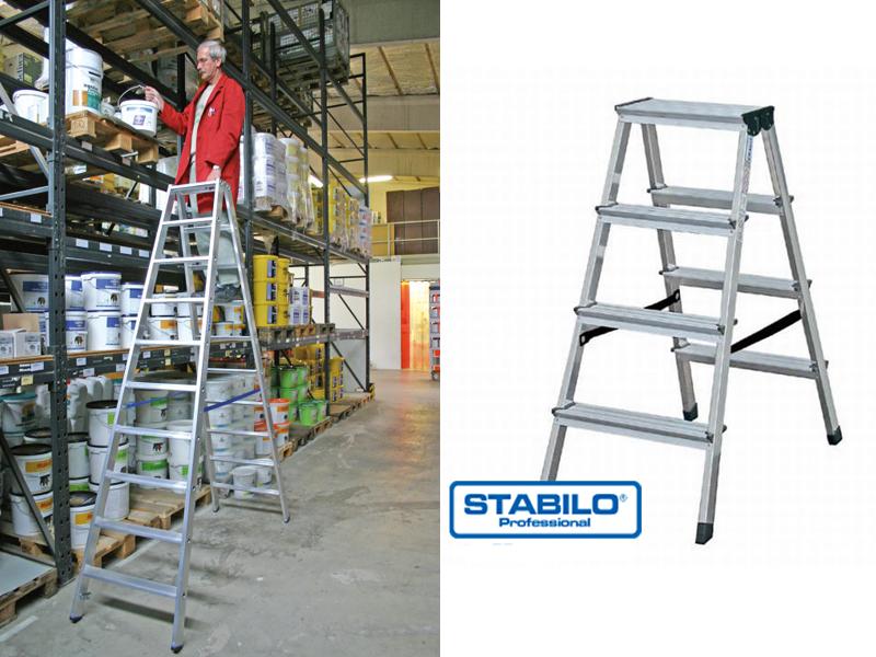 Двухсторонняя лестница-стремянка
