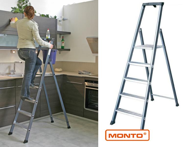 Лестница-стремянка SePro S анодированная