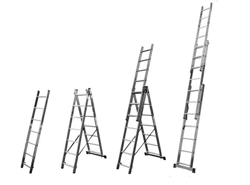 Универсальная алюминиевая лестница