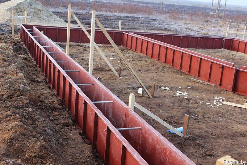 строительство опалубка мелкощитовая