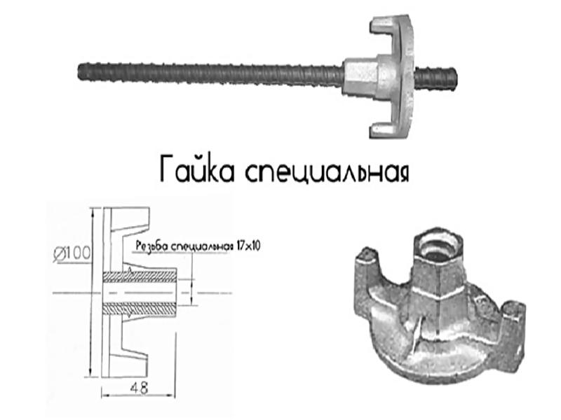 Крепежные элементы опалубки