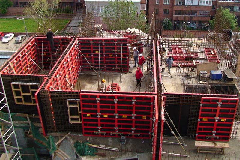 Обзор видов опалубки для монолитного строительства: типоразмеры и материалы