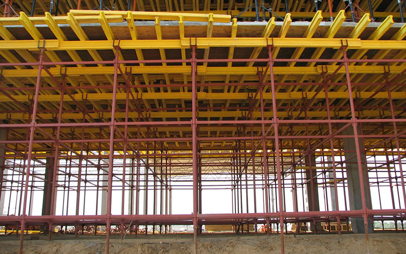 Применение в промышленном строительстве
