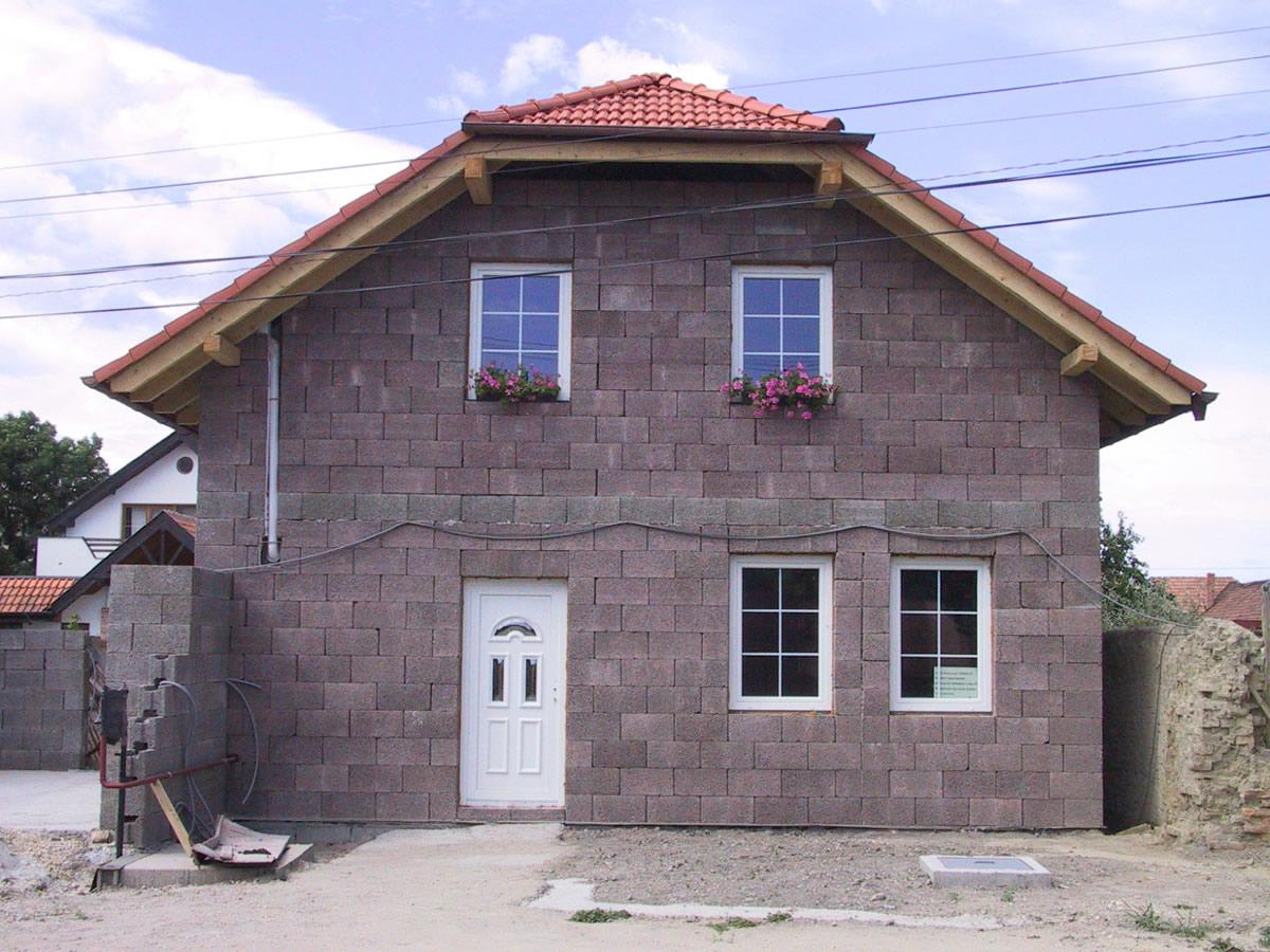 Дом из блоков Дюрисол