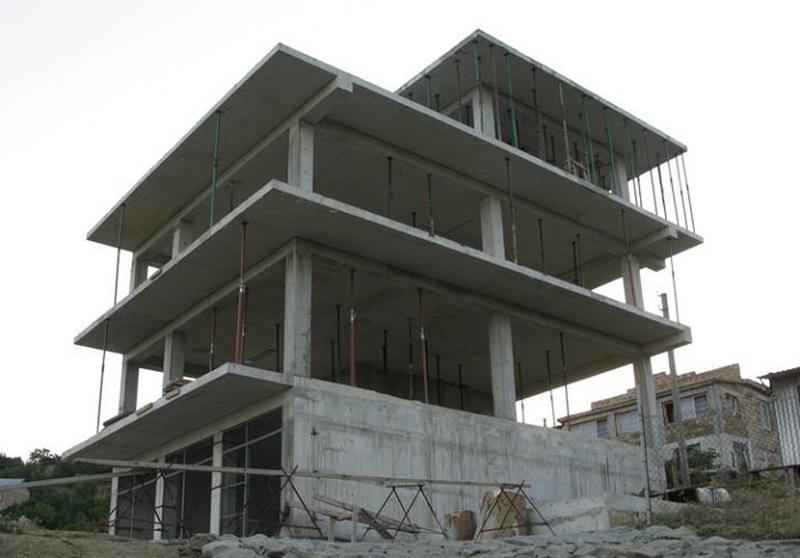 Монолитно-каркасная конструкция