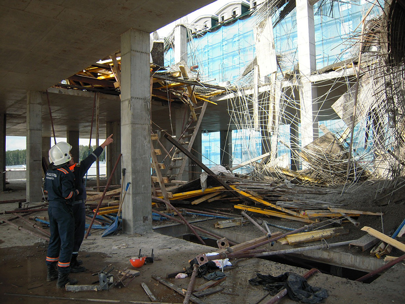 Разрушение опалубочных систем в Новосибирске