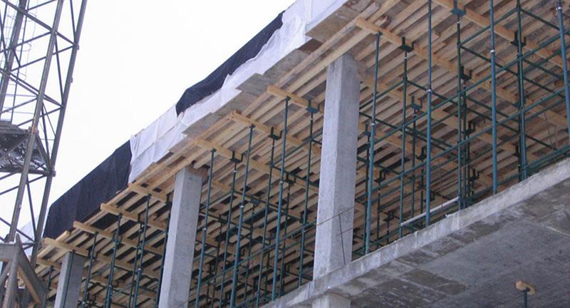 Применение опалубок при строительстве перекрытий