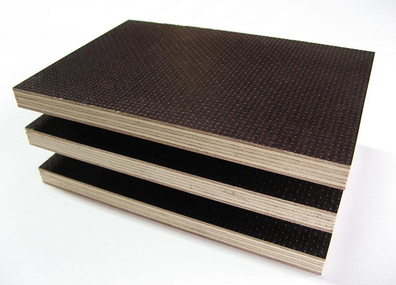 Фанера ламинированная сеткой образцы