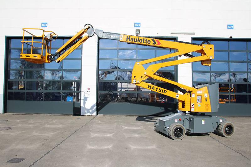 Модель Haulotte ha15ip предназначена для работы в помещениях