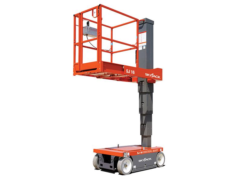 Подъёмник строительный телескопический