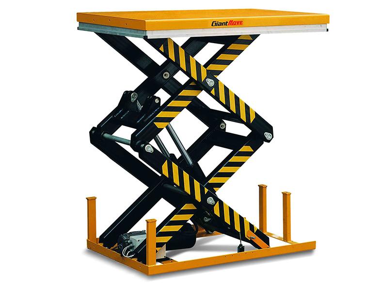 Подъёмный стол ножничного типа