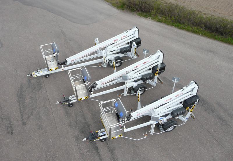 Коленчато-телескопические АГТ