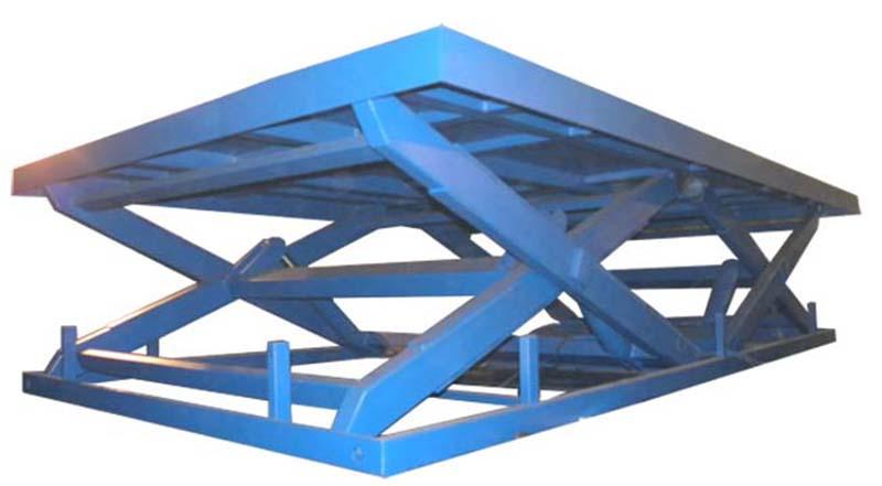 Ножничные подъемные столы в работе