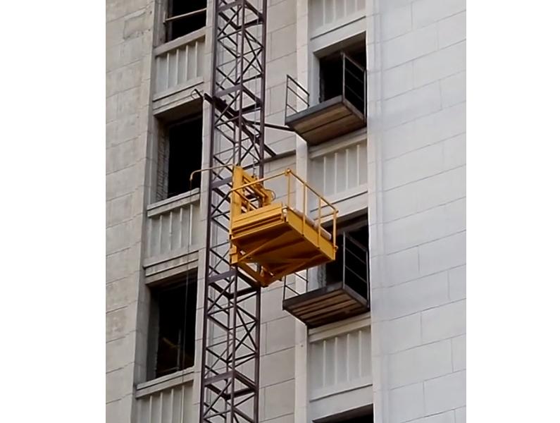 Монтаж подъёмников