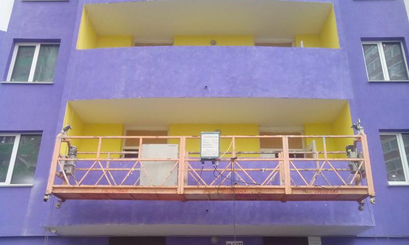 Эксплуатация фасадной люльки в строительстве